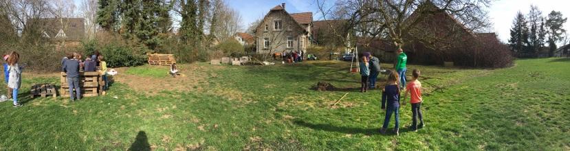 Aktuelles Gartenprojekt