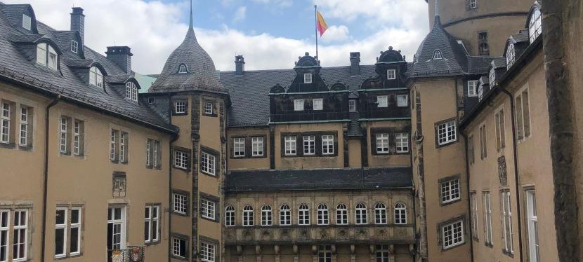 Schulausflug ins Schloss